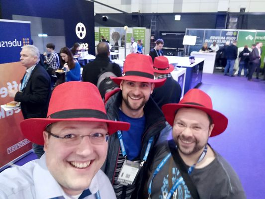 Cloudfest 2019 - RedHat Stand